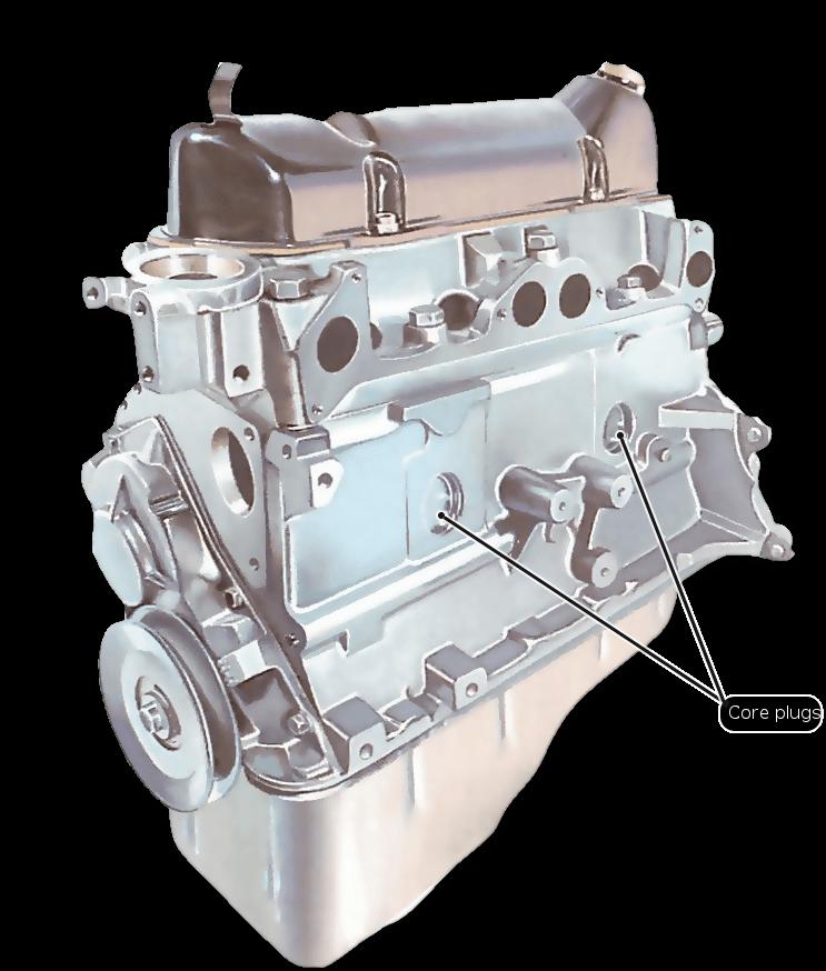 Sustituci 243 N De Tapones Del Bloque Del Motor C 243 Mo