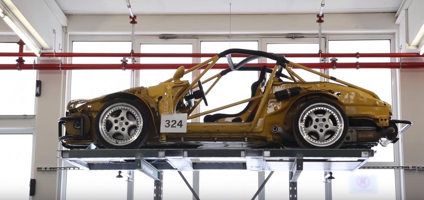 Porsche chassis w1400