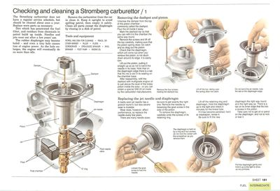 How to overhaul a Stromberg carburettor