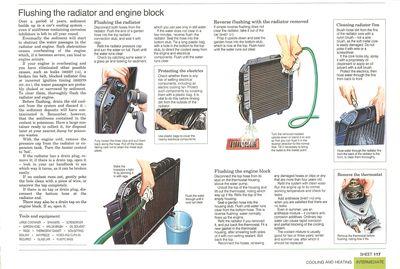 Cómo limpiar el radiador del motor